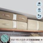 ベルメゾンデイズ 防ダニ・抗菌・防カビ機能が続くクローゼットぴったり布団収納袋 「アクアブルー」