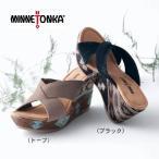 ショッピングoff MINNETONKA/ミネトンカ 本革クロスミュール 5