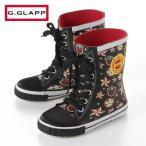 GRIP GLAPP レースアップラバーレインブーツ 16〜20