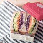 具だくさんサンドイッチが作れる折りたたみケース