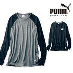 PUMA/プーマ メンズ ラグラン長袖Tシャツ メンズS〜メンズXL