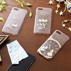 ディズニー iPhone7対応スマートフォン箔押しクリアケース ミッキー&ミニー〜アリス