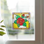 わくわくの種 ステンドグラス風ぬり絵レクリエーションキット・バラ