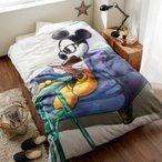 ディズニー カタログ表紙を飾ったオリジナルデザインの掛け布団カバー(ミッキーマウス)