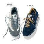 ショッピングサボ アドミラル/Admiral トラッフォード NS スニーカー 23〜25