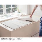 ショッピング風呂 kusu kusu works 軽量抗菌バスシート「Satto」 「E(奥行75×幅121cm―160cm)」