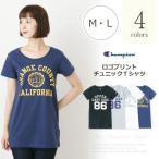 チャンピオン/Champion ロゴプリントチュニックTシャツ M