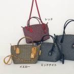 ロベルタ ピエリ/ROBERTA PIERI イタリア製レザー付属ナイロン手提げバッグ