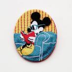 ディズニー 刺繍ブローチ カラー 「ミッキーマウス