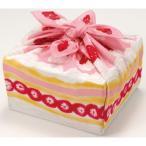 包むとケーキやバラに 日本製綿100%の小風呂敷