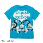 子供服 おしゃれ Tシャツ きかんしゃトーマス    Tシャツ 「ブルー」