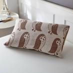 布団カバー シーツ 枕カバー ピローケース 北欧調デザインののびのび枕カバー 「ふくろう」