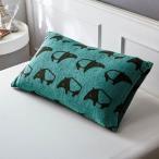 布団カバー シーツ 枕カバー ピローケース 北欧調デザインののびのび枕カバー 「バク」