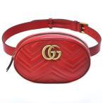 バッグ カバン 鞄 レディース GG MARMONT /ウエストバッグ/491294 カラー 「レッド」