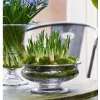 花瓶 ガラス 北欧 ホルムガード OLD ENGLISH フラワーボウル φ 25cm 4343801 吹きガラス ギフト  北欧  日本正規代理店品