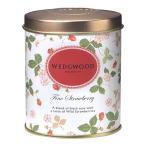 ウェッジウッド の紅茶 ワイルドストロベリーシリーズ ファインストロベリーティー 100g