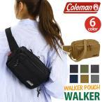 ショッピングcoleman コールマン Coleman WALKER POUCH ウォーカー ポーチ 2018SS ウォーキングポーチ ウエストポーチ