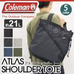 ショッピングcoleman Coleman コールマン ATLAS アトラス ショルダー トートバッグトートバッグ