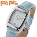 フォリフォリ FOLLI FOLLIE 腕時計 レディース/女性用 シルバー x ブルー S922-SVBL