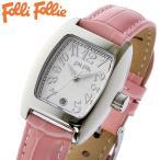 フォリフォリ FOLLI FOLLIE 腕時計 レディース/女性用 シルバー x ピンク S922-SVPK