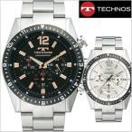 テクノス TECHNOS 腕時計 クロノグラフ メンズ TSM104/T1019TH