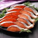(送料無料)(お歳暮ギフト)鮭紀行 紅鮭・時鮭切身セット 計12切