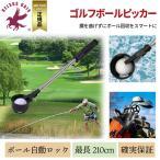 ゴルフボールピッカー  ゴルフボール回収器 伸縮8段階 最長2.1m 父の日 送料無料