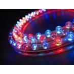 ショッピングLED LEDチューブライト 120灯 高輝度 防水 12V イルミネーション テープライト 片側配線 120cm モール ライト 1本販売 マルチカラー クリスマス