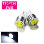 T10 T16 ポジションランプ LED ナンバー灯 1W 選べる4色 2個セット