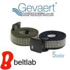 ベルト メンズ レディース ゴムベルト ゲバルト GEVAERT アウトドア 伸びる 軽い 金属アレルギーの画像