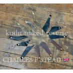 kudu 本革 キーホルダー クードゥー クズー レザー カットレザー 手切り仕上げ キーリング イギリス製革 自社生産 日本製