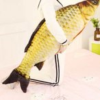 さかな ぬいぐるみ 魚 フナ リアル 抱き枕 おもしろクッション 特大 猫用品 肥満解消 おもちゃ 特大 食店飾り ギフト 120cm