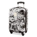 ディズニー Disney US公式 ジャックスケリントン ナイトメアビフォアクリスマス キャリーバッグ 鞄 カバン スーツケース 旅行 バッグ ラゲ