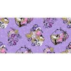 ディズニー Disney 眠れる森の美女 オーロラ姫 プリンセス マレフィセント 生地 布 手芸 フラフト 【フリース】 ボタン バッチ コレクタ