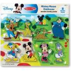 ショッピングメリッサ ディズニー Disney ミッキーマウス パズル おもちゃ 玩具 トイ ゲーム 木 木製 メリッサダグ 知育 [並行輸入品]