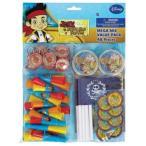 ディズニー Disney ジェイクとネバーランドのかいぞくたち パイレーツ パーティー グッズ おもちゃ 玩具 パーティーグッズ 8パック ネバー