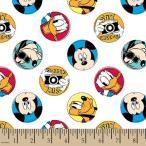 ディズニー Disney ミッキーマウス 生地 布 手芸 フラフト ボタン バッチ コレクター おもちゃ [並行輸入品]