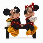 ディズニー Disney US公式商品 ミッキーマウス ミニーマウス フィギュア 置物 人形 アリバスブラザーズ 限定版 限定 [並行輸入品]