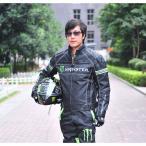 バイクジャケット MONSTER  メンズジャケット  四季 通気 バイク レーシング  ジャケット  プロテクター バイクウェア 人気 送料無料