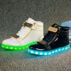 Yahoo!ベンキアスニーカー LEDスニーカー 光る靴 光るスニーカー 7カラーチェンジスポーツシューズ 充電式LEDスニーカー メンズ レディース シューズ くつ 男女