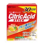 Citric Acid クエン酸スティック 30日分(2g×60包)  5400円以上で送料無料