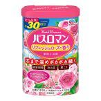 アース製薬/バスロマン/入浴剤/温浴タイプ/ローズの香り