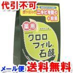 薬用 クロロフィル石鹸 復刻版 85g 医薬部外品 ゆうメール選択で送料無料
