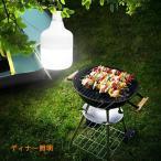 ショッピングled電球 LED電球ライトUSB充電式 屋外 LEDキャンプライト照明 30W ポータブル ランタン 5つの照明モード USB充電ケーブル付属 (ホワ
