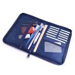 ショッピング母子手帳 母子手帳ケースファスナーマルチケースブルーオーシャンセーリングB2804800