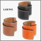 LOEWE ロエベ  Anagram Small slap bracelet アナグラム ロゴ スラップ ブレスレット スモール 11919336 レザー バングル
