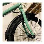 BRUNO ブルーノ 自転車 フェンダー FENDER MV20 TOOL ミニベロ ツール 専用 MINIVELO TOOL 20インチ 20x2.125 タイヤ対応 マッドガード 泥除け ブラック