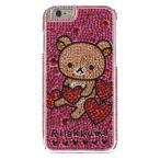 リラックマ iPhone6s/6対応 ジュエリージャケット  リラックマ  GRC-116B