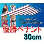 【優勝ペナント】 (無地)優勝者ペナント(リボン)●サイズ300mm(30cm)
