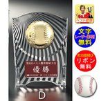楯(盾)野球【文字彫刻無料】表彰楯 (樹脂製)W-CL5569-7-Dサイズ●高さ125mm/楯(盾)